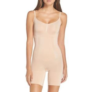 Spanx   OnCore High Thigh Bodysuit Nude